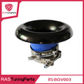 New Universal Aluminum 3inch or 3.5inch or 4inch Turbo Inlet Horn Kit Turbo charger Air Intake Funnel Air Inlet  RS-BOV003