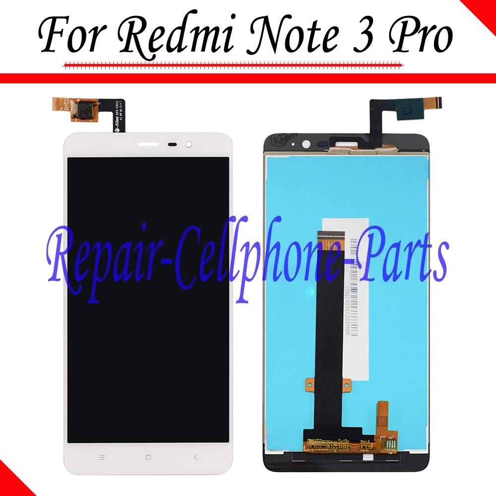 imágenes para Blanco nueva pantalla lcd full + asamblea de pantalla táctil digitalizador para xiaomi arroz rojo hongmi redmi note 3 pro/redmi note 3/primer
