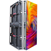New item P6.25 rental led display outdoor smd RGB waterproof IP65 500x1000mm die casting aluminum cabinet screen for event
