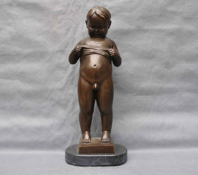 Naked art statues
