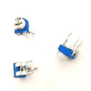 Image 3 - 2000 Pcs RM065 RM 065 Trimpot Trimmer Potentiometer Variabele Weerstand 100 200 500 Ohm 1K 2K 5K 10K 20K 50K 100K 200K 500K 1M Ohm