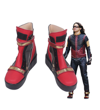 Exclusive Superhero The Flash Cosplay Shoes Boots Custom Made