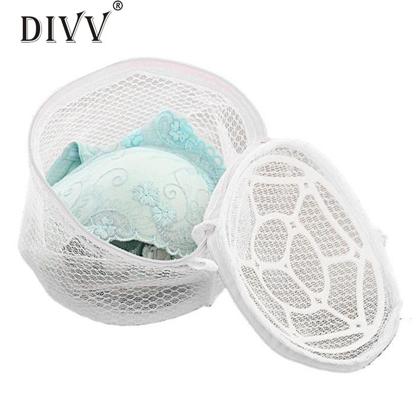 My House New Lingerie Underwear Bra Sock Laundry Washing Aid Net Mesh Zip Bag Rose 2017 New Hot Sell 17Tue23