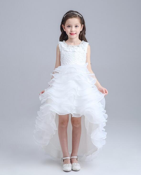 Retail 2017 Lace Flower Girl Dress Children Kids Beautiful Wedding Party Dress Girl Formal Party Pageant Long Princess DressRetail 2017 Lace Flower Girl Dress Children Kids Beautiful Wedding Party Dress Girl Formal Party Pageant Long Princess Dress