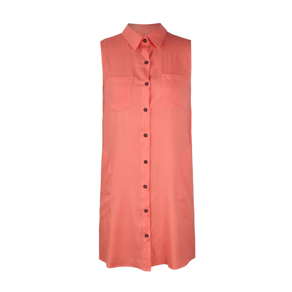 Women Summer Shirt Style Sleeveless Casual Summer Clothes Fabala
