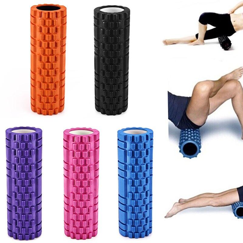 EVA Yoga Foam Roller Exercise Gym Fitness Floating Point Physio Trigger Massage