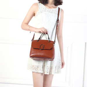 Image 5 - ESUFEIR Brand Genuine Leather Women Shoulder Bag Real Cow Leather Handbag Famous Design Crossbody Bag Casual Tote Top handle Bag