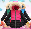 2016 Winter Children Down & Parkas Outdoor Girls Outerwear & Coats Fashion Warm Down Coat Beautiful Jacket For Female Child