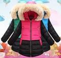 2016 Winter Children Down & Parkas Outdoor Girls Outerwear & Coats Fashion Warm Down Coat Beautiful Jacket For Female Child