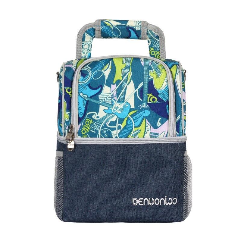 waterproof double layer cooler bag leak proof cool backpack breast milk fresh carrier ice pack thermal