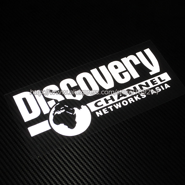 Hot sale Discovery Channel A Motorcycle Auto SUV Sticker Decals Waterproof Reflective YYY