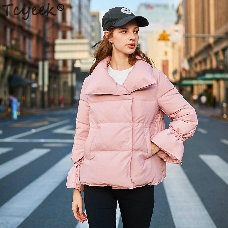 Manteau as D'hiver Lwl1244 Picture Doudoune De Épais Court Vers Le Tcyeek pink Blanc Femmes Femelle 90 Bas Manteaux Femme Canard Chaud Casual Parka Veste Beige Duvet wIqSpFxAS