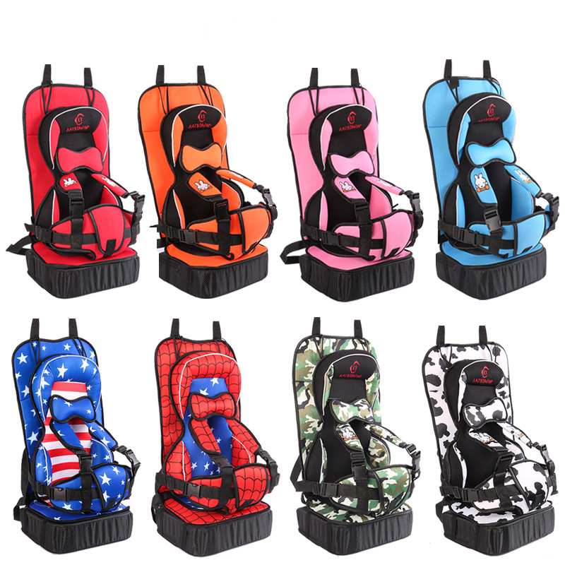 Dropshipping Child Car Seat Cushion Pad Infant Safe Seat Thickening Sponge Kids Car Seats For Boy Girl Baby Kids Safety Car Seat