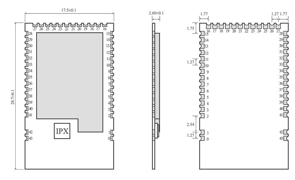 E73-2G4M04S1A  nRF52810 ble module (5)