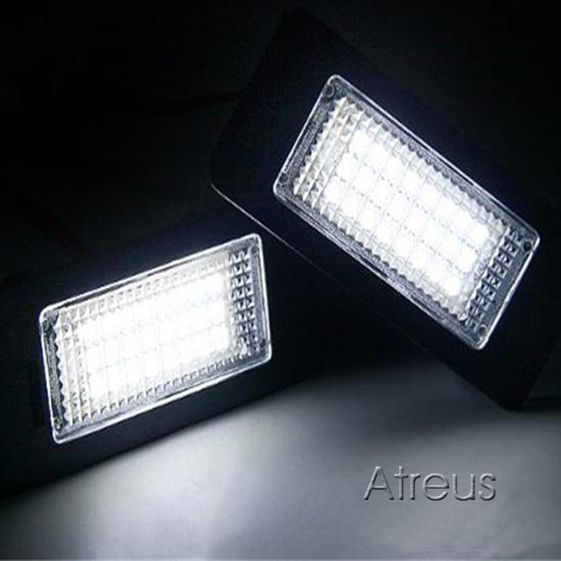 Atreus automobilsko LED registarsko svjetlo za BMW E39 E60 M5 E90 E82 - Svjetla automobila - Foto 5