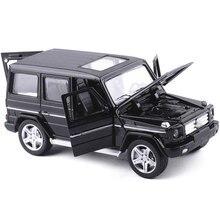 Mini AMG G55 Diecast Metalen Auto Speelgoed 1:32 Schaal G65 Trek Legering Auto Knipperende Musice Auto Model Collectie Auto Oyuncak voor jongen