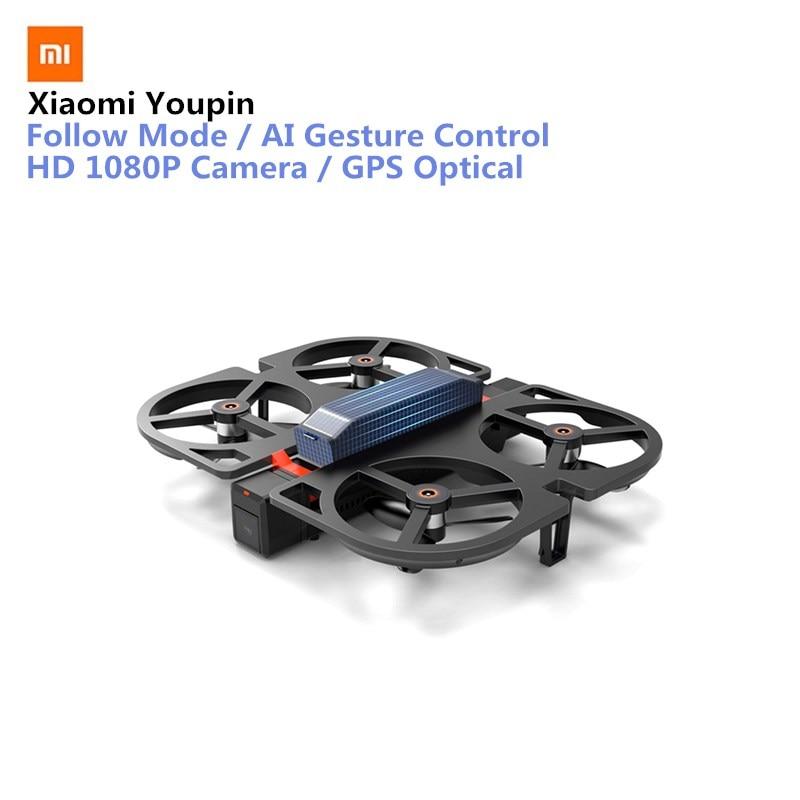 Xiaomi Youpin IDol FPV камеры Drone складной Дроны с камеры HD 1080 P AI управления жестами режим следовать GPS потока удерживайте Радиоуправляемый Дрон