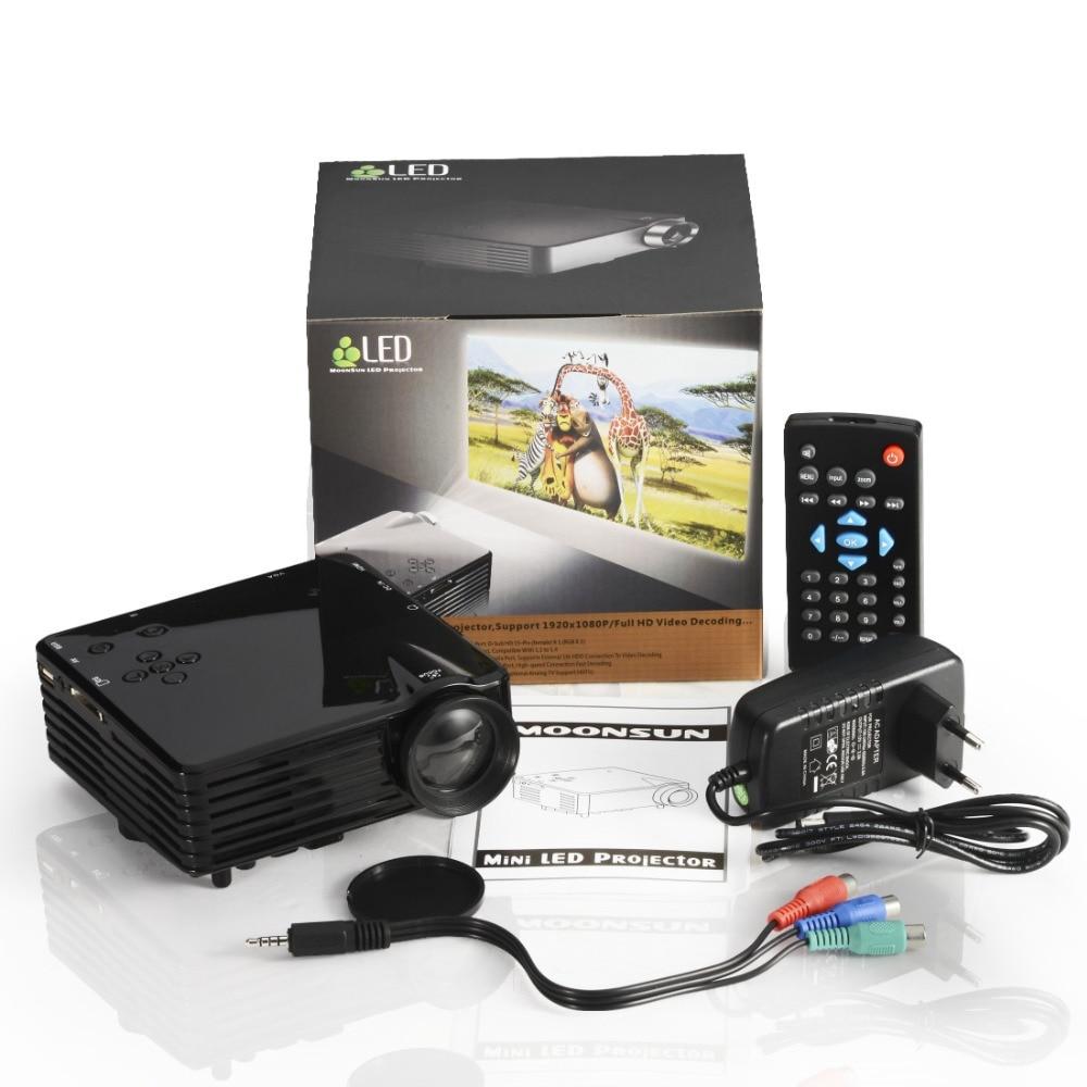 ФОТО Mini LED Projector, new model GP7S new portable mini projector 480x320P Personal Cinema Support USB SD AV HDMI VGA