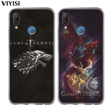 For Huawei P30 Pro P20 Lite Case Mate 20 lite 9  P10 Coque Game Thrones Daenerys Dragon Jon Snow Tyrion Lannister Etui