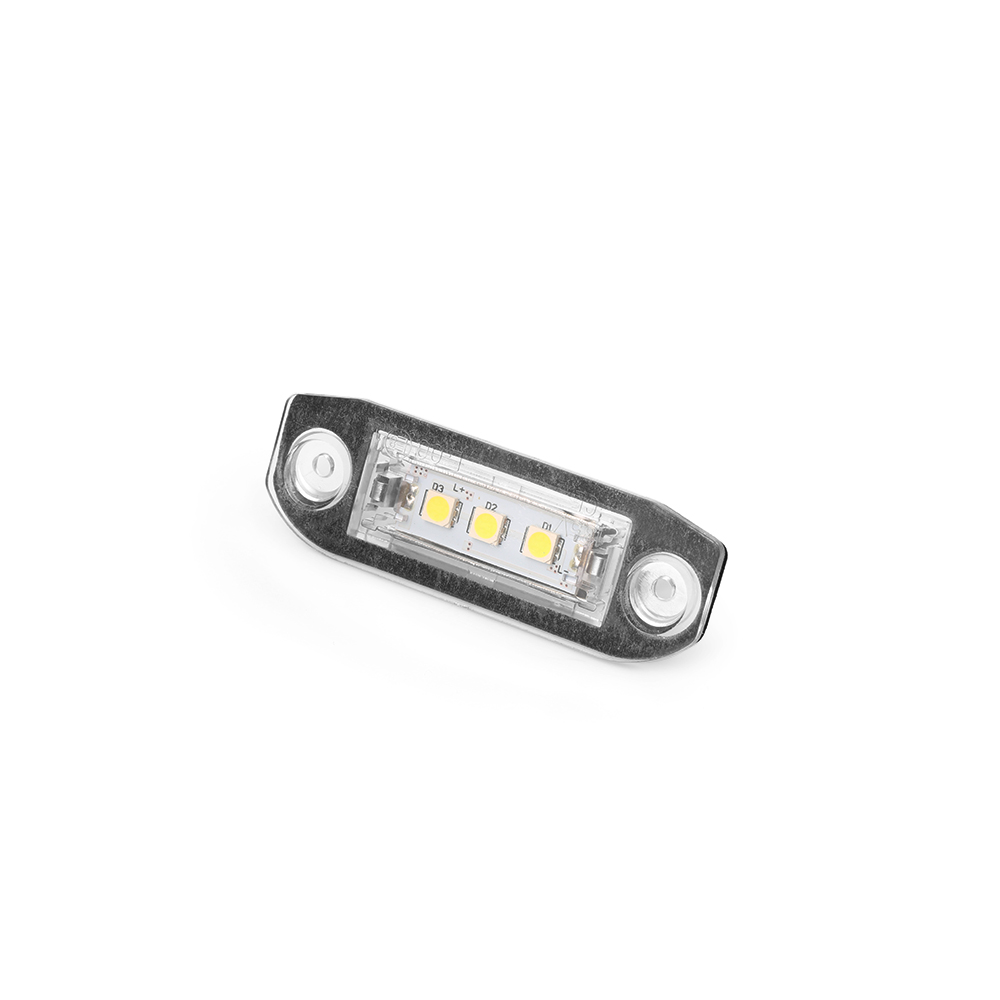 Image 4 - 2Pcs Canbus LED License Plate Light For Volvo S80 XC90 S40 V60 XC60 S60 C70 V50 XC70 V70 White Car Styling Number Lamp-in License Plate from Automobiles & Motorcycles