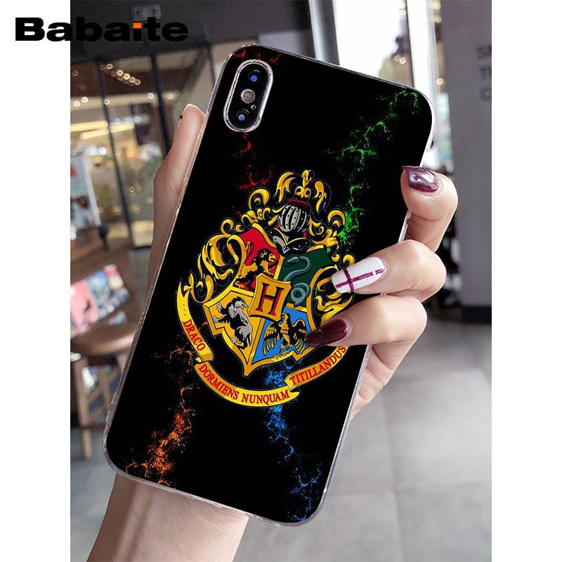 Harry Potter Always Slytherin School Novelty Fundas Phone Case Cover for iPhone 5 5Sx 6 7 7plus 8 8Plus X XS MAX XR