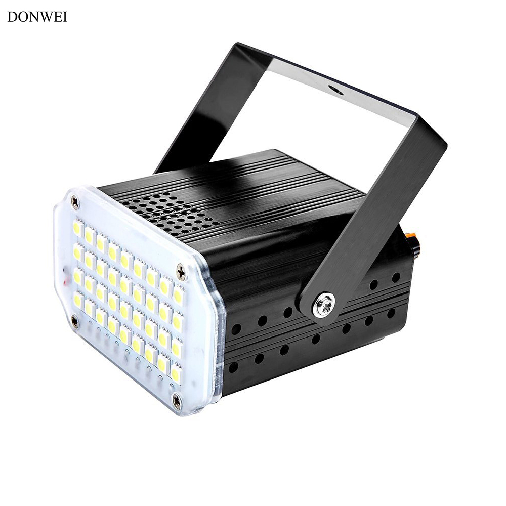 DONWEI Mini RGB 36LED Stage Effect Light Home Laser Projection Lamp ...