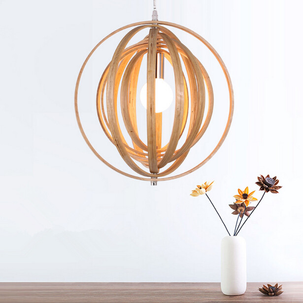 Northern Europe Designer Creative LED Office Solid Wood Chandelier Personality Art Living Room Restaurant Bar Bedroom Chandelier designer creative personality droplight cafe restaurant bar contemporary and contracted solid wood bedroom art chandelier