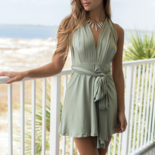 Convertible Infinity Wrap Robe Dresses