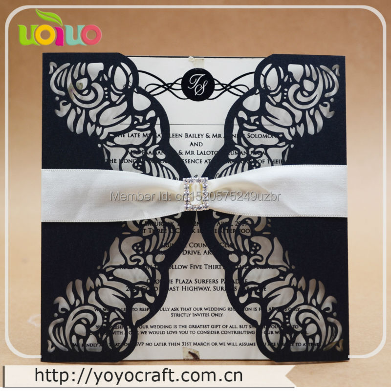 Buy simple wedding invitations and get free shipping on aliexpress stopboris Choice Image