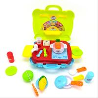 House children Kitchen Toys Set For kids Cooking Food Dishes Cookware Pretend & Play Kitchen Playset toys Children's day gifts