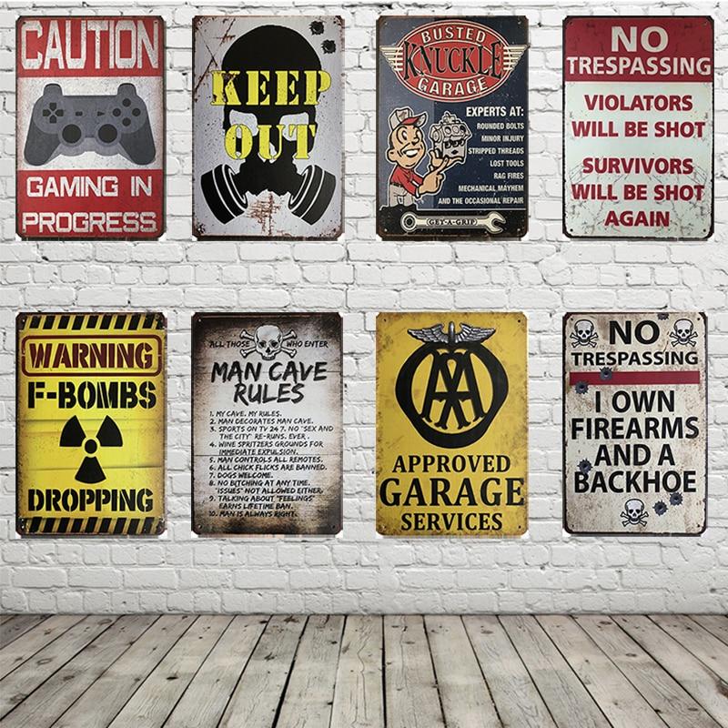 Stone Biker Movie Poster Print Banner Man Cave Wall Hanging Sign Garage Poster Signs Barware