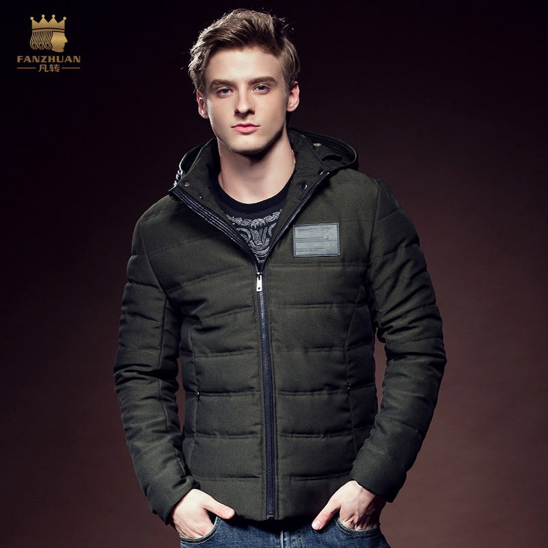 Free Shipping New 2016 fashion fanzhuan casual male Men's man winter man warm Hooded Zipper warm padded coat 610137 promotion led flood light 200w black ac85 265v waterproof ip65 floodlight spotlight garden outdoor lighting lamp