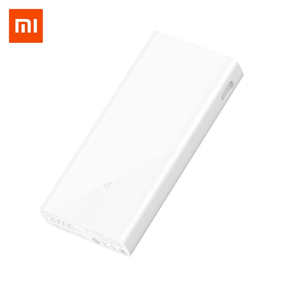 Xiao mi banco de potencia 20000 mAh 2C de batería externa portátil de carga Dual puertos USB de dos wayQuick cargo QC3.0 20000 mAh Powerbank