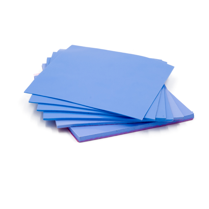 High Quality 100mm*100mm*1mm 0.5mm 1.5mm 2mm 3mm 5mm GPU CPU Heatsink Cooling Conductive Silicone Pad Thermal Pad