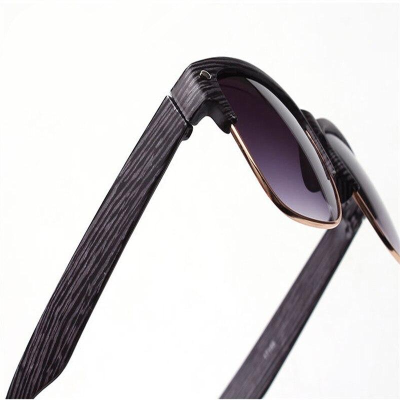 2019 neue Mode Holzimitat Damen Sonnenbrille klassischen Markendesign - Bekleidungszubehör - Foto 6