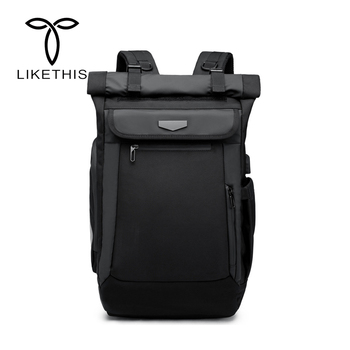 Waterproof Backpack Men Multifunction USB Charge Laptop Backpack Travel Fashion School Bags For Teenage mochila mujer 2018