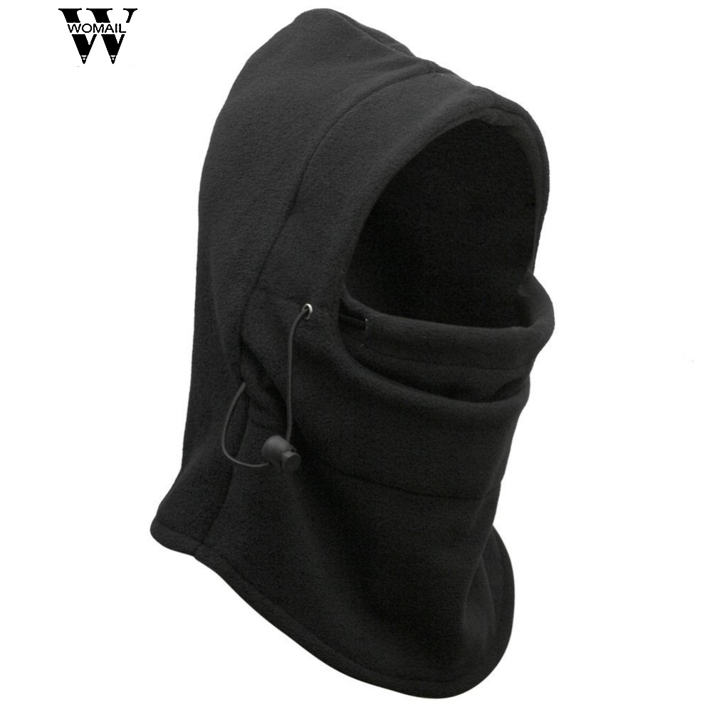 Vintage Skullies & cute Thermal Fleece Hood Police Swat Wind Winter Stopper Face Mask W35 Jun22 skullies