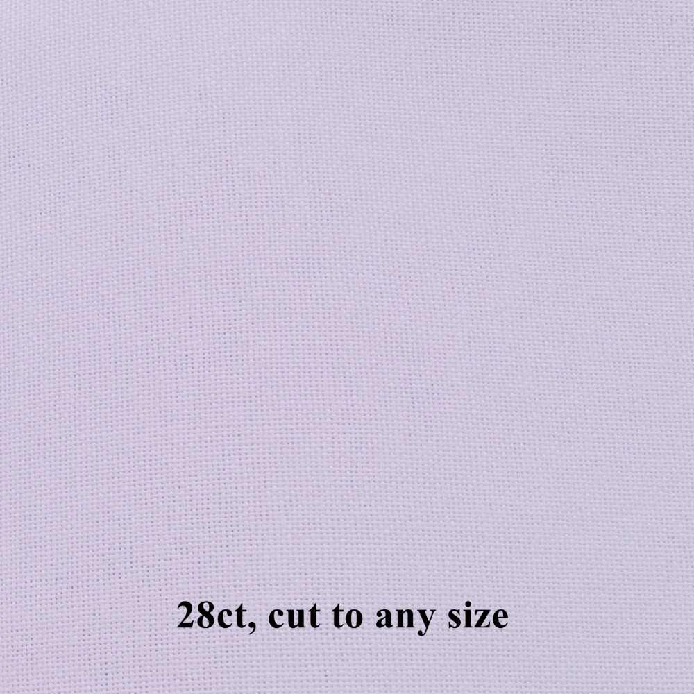 25x25 см канва 14CT 18ct 28ct 40ct ткань из перекрестной стежки из плотной ткани небольшая решётка белого цвета для самостоятельного изготовления; вышивка швами