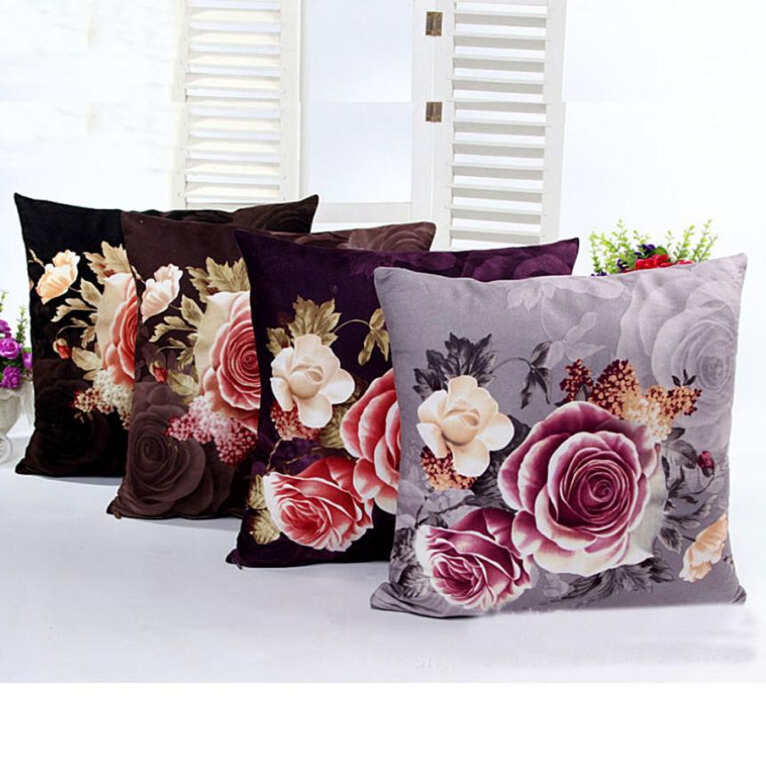 2016 Fashion Throw Pillow Cover Sofa Waist housse de coussin Cover Home Decor almofadas decorativas para sofa ofertas del dia