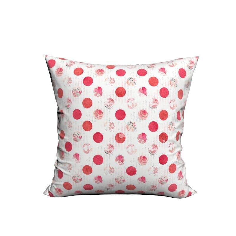 Online Shop RUBIHOME Creative Decorative Cushion Cover Throw Pillowcase Polyester Plush Fabric Home Decor Pink Dessert Love Design   Aliexpress Mobile