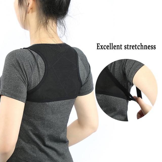 1a57de8fb9c Adjustable Posture Corrector Belt Back Posture Correction Corset Spine  Support Belt Back Shoulder Therapy Brace Correction
