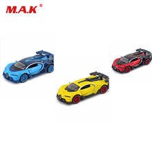 Collection 1:32 Scale Alloy Diecast Bugatti Veyron GT Car Model Red/Blue/Yellow With Sound&Light Toys for Boys Children Kids