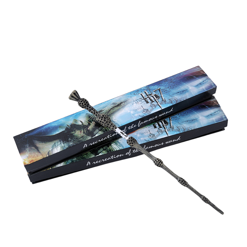 2017 Metal Core Deluxe COS Albus Dumbledore Magic Wand of Magical Stick With Gift Box Pack of Harry Potter