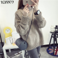 YiZiKKCO Brand Woman Sweaters Pullovers 2016 New Autumn Winter Knitted Sweater Womens Pullover Pull Femme Sweter Mujer WHD235