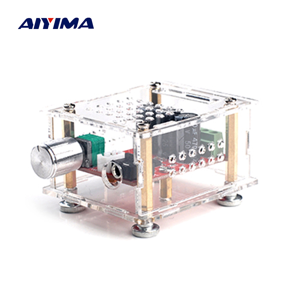 Aiyima YDA138-E Audio Amplifier Board 8W+8W HIFI Dual Channel Stereo Digital Amplifier Board DC12V For YAMAHA hdmi vga 2av lcd driver board vs ty2662 v1 for 71280 800 n070icg l21 ips lcd