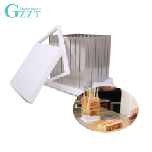 GZZT BBQ Skewers Maker Box 64 Holes Easy Barbecue Kebab Meat Brochettes Skewer Tool Sets ABS Plastic+Stainless Steel