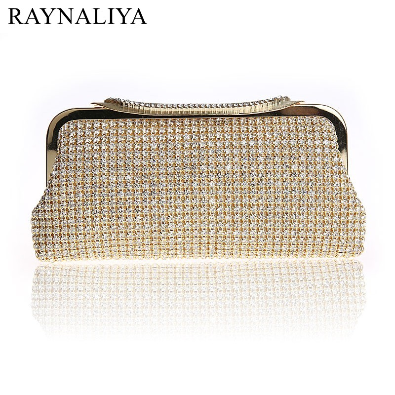 2017 Promotion Sale Frame Women Wedding Clutches Bag Crystal Evening Bags Party Purses Small Handbag Clutch Smysfx-e0255 promotion women