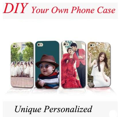 custom logo photo case back cover customized printed phone cases diy
