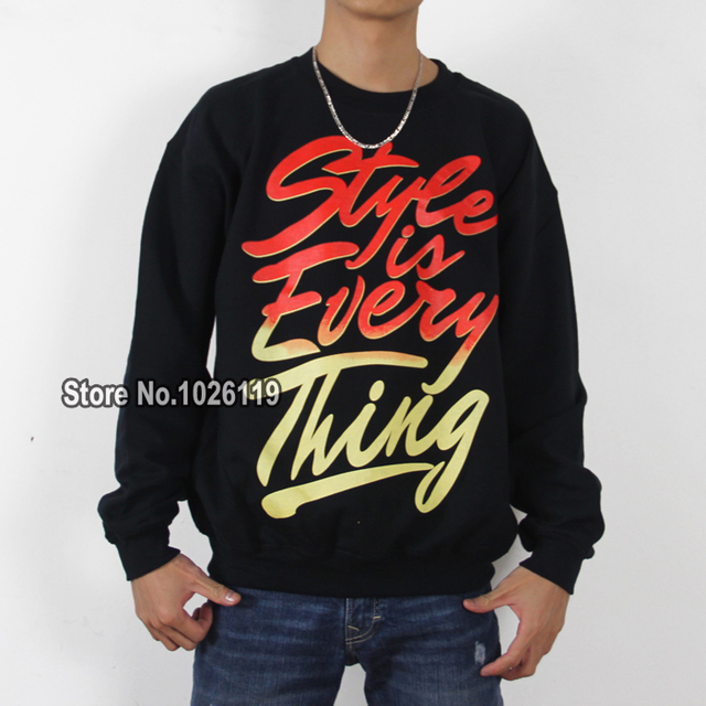 Bboy Sweater Coat Plus Velvet Style Is Everything Hitz Long Sleeved