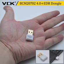 VCK Broadcom BCM20702 USB bluetooth V4.0+EDR Dongle Adapter Compatible with For PC Laptop Windows XP Vista 7 8 8.1 10